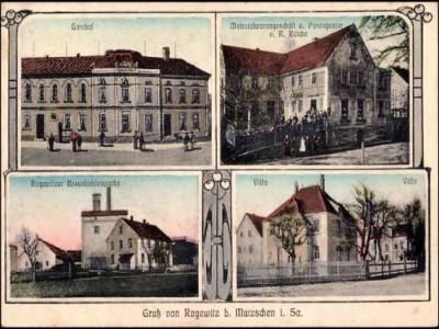 Ansichtskarte Ragewitz von 1919