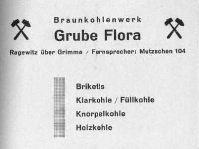 Adressbuch von Grimma Jahrgang 1939