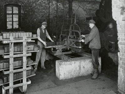 Braunkohleziegelherstellung