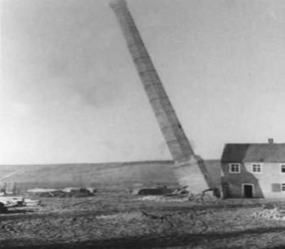 1934 wurden die Gebäude der Ziegelei abgerissen
