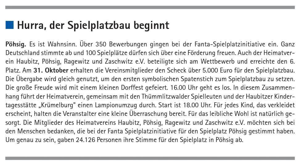 Amtsblatt Grimma vom 18.10.2015
